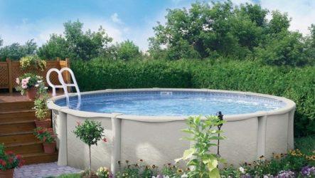 Подбор недорогого бассейна для дачи
