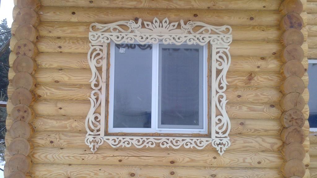 Шаблоны резной обналички на окна