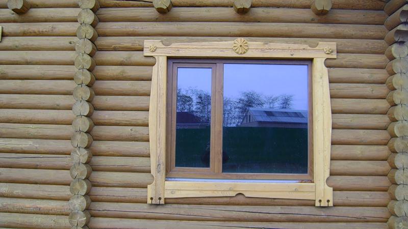 Наличники в деревянном доме своими руками