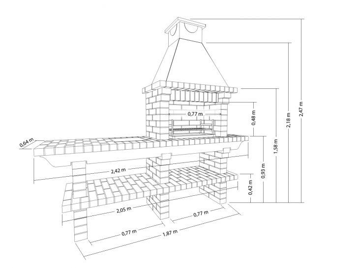 мангал под крышей