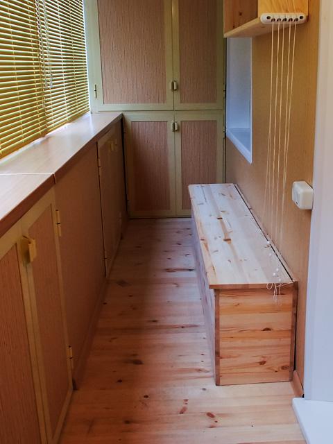Мебель своими руками для лоджий и балконов.