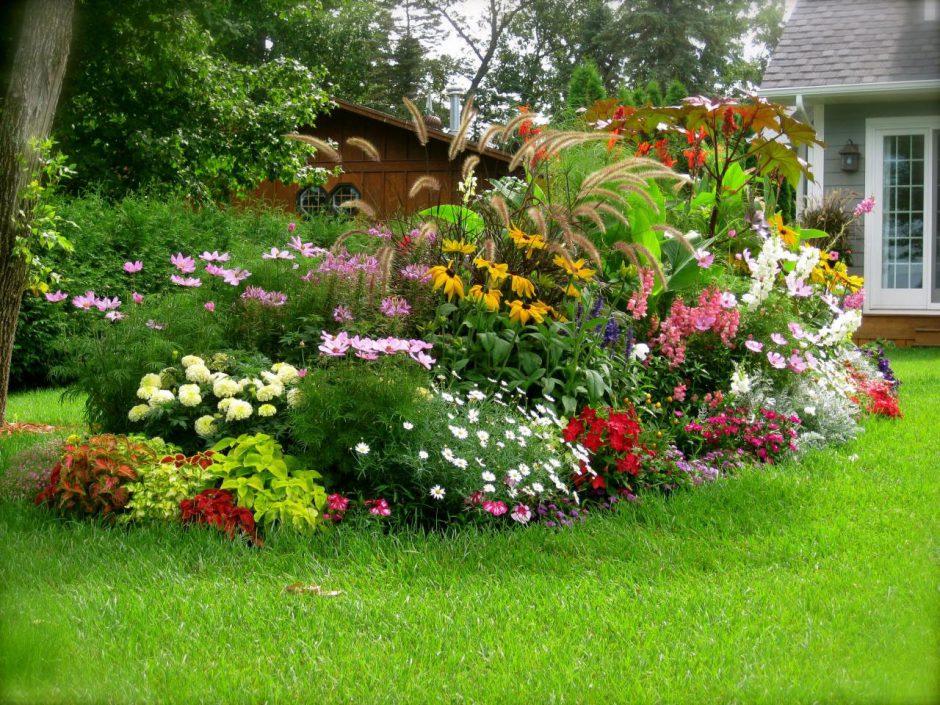 Как сделать красивый сад у себя на  936