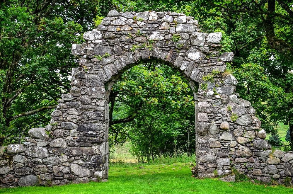 Каменные арки своими руками