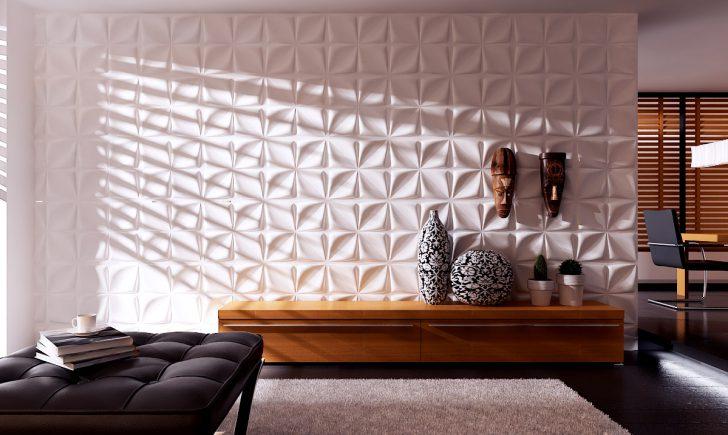 3D панели для стен в интерьере