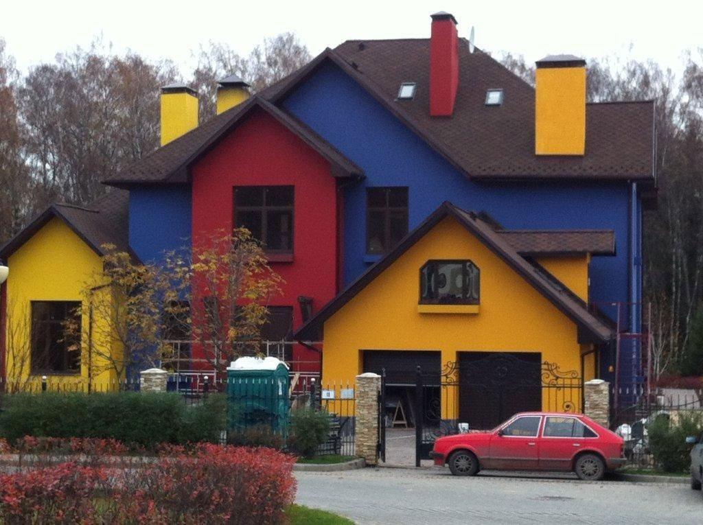 щербо фото покраски дома и крыши сочетание цветов купе