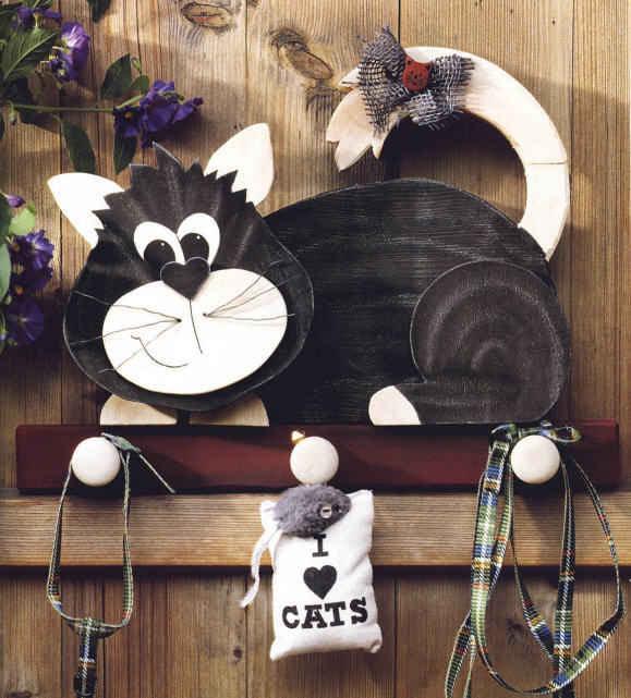 Поделки котов из фанеры своими руками