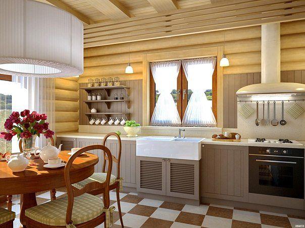 обшивка стен в деревянном доме
