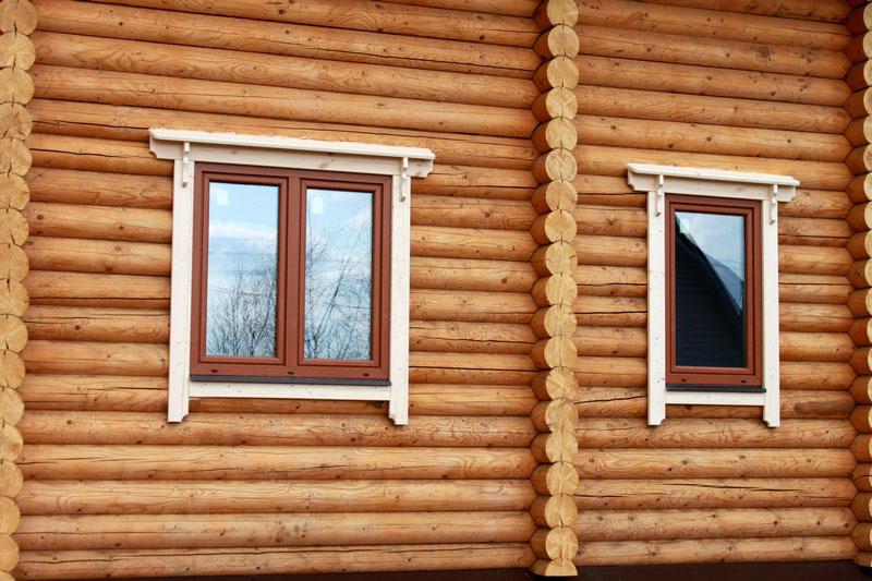Обналичка для окон в деревянном доме картинки