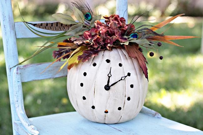 31-9 Осенние поделки из тыквы своими руками: 12 красивых и оригинальных поделок из тыквы для детского сада и школы