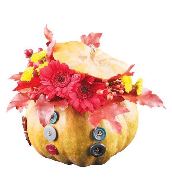 32-9 Осенние поделки из тыквы своими руками: 12 красивых и оригинальных поделок из тыквы для детского сада и школы