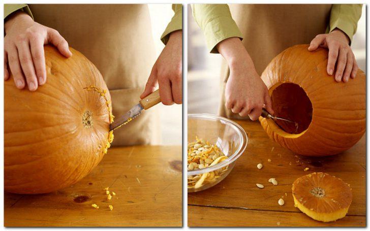 37-7-728x455 Осенние поделки из тыквы своими руками: 12 красивых и оригинальных поделок из тыквы для детского сада и школы