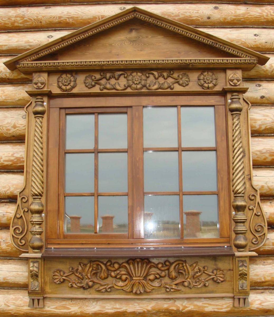 Наличники на окна в доме своими руками