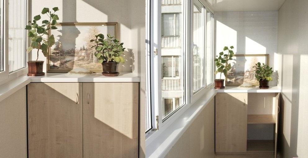 Тумбочка на балкон фото