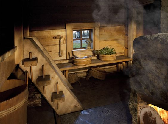 Дизайн бани внутри 3 5