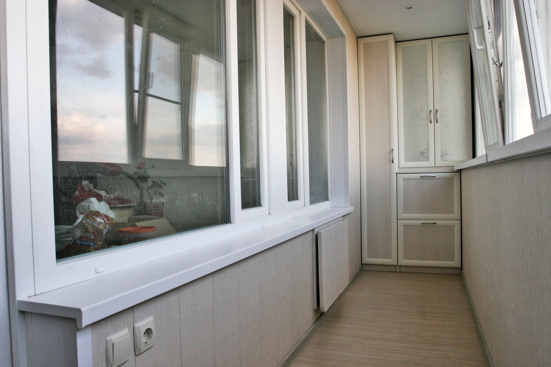 Фото ремонта балконов на 6 метров