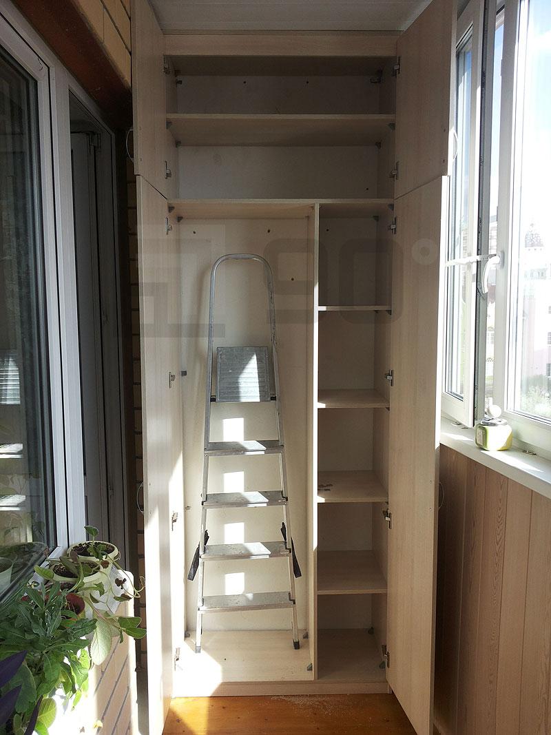Дизайн шкафов для лоджии