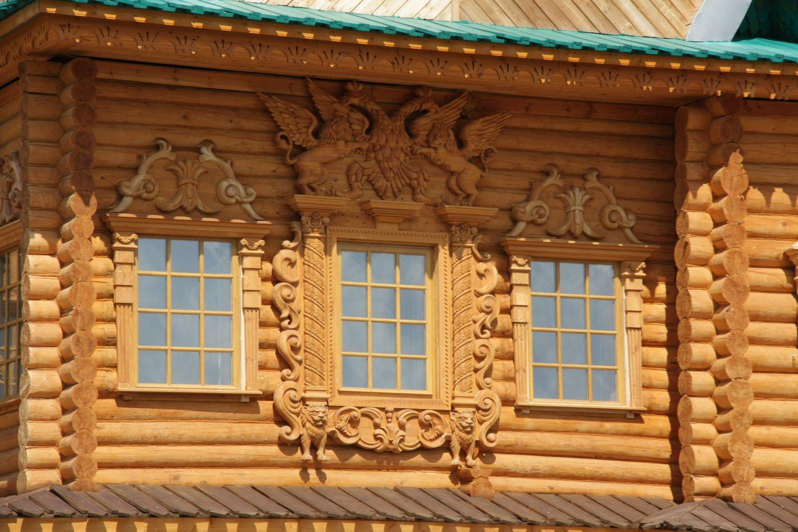 Окна для дома из дерева своими руками