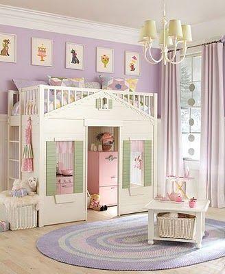 детские комнаты с двухъярусной кроватью