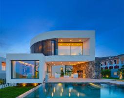 Роскошь и изящество современной средиземноморской архитектуры