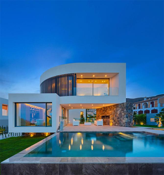 Дом как образец средиземноморской архитектуры