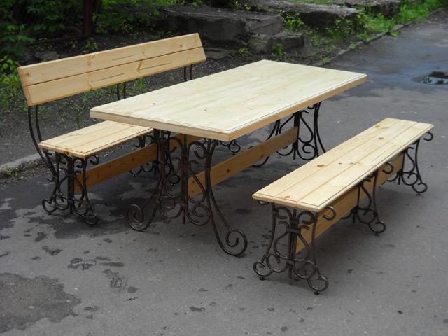 Садовая мебель своими руками фото из металла