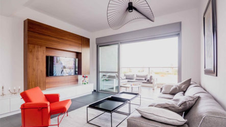 Мужской дизайн в современной квартире