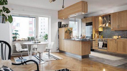 Необходимость оформления кухни-студии в городской квартире