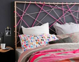 Стильное оформление кровати