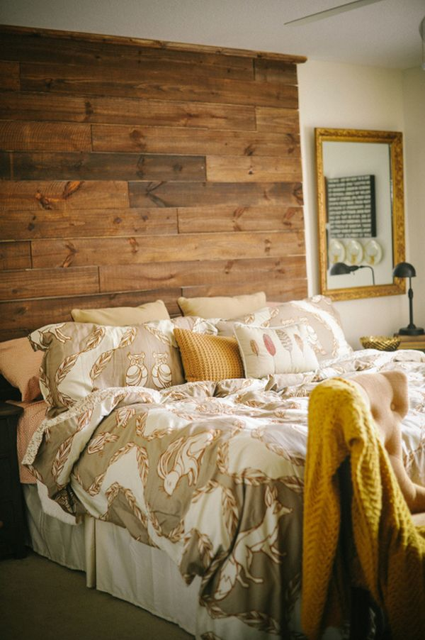 Изголовье. из дерева для кровати своими руками фото