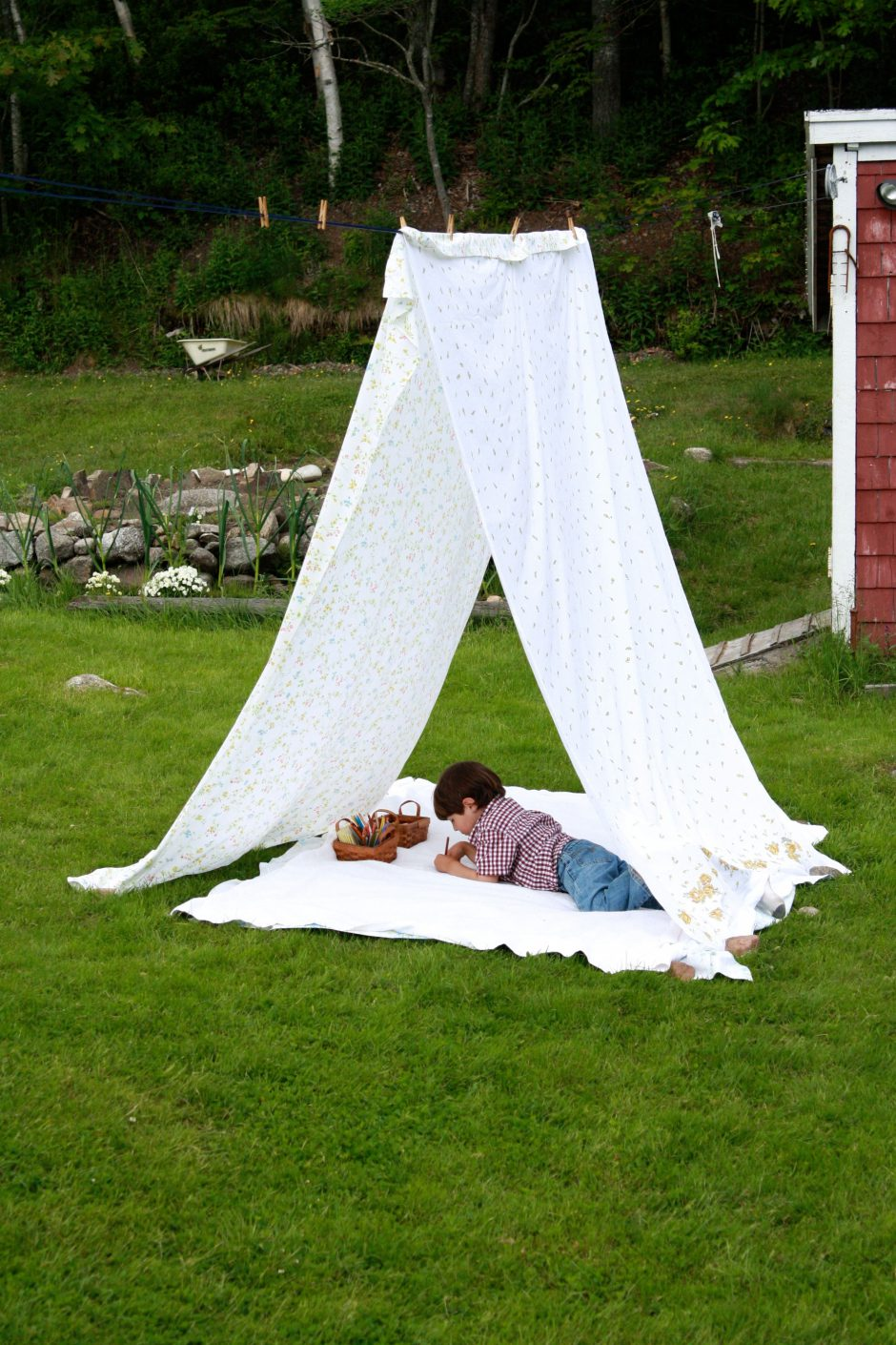 Как сделать палатку своими рук