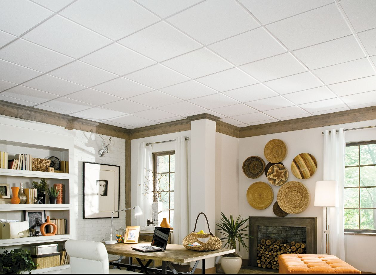 Фото подвесной потолок армстронг дома