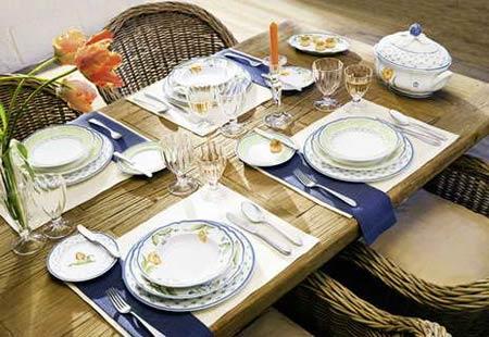 сервировка стола в домашних условиях