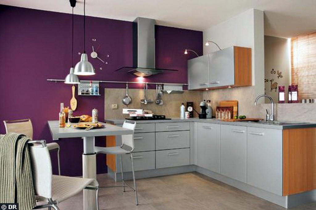 Кухня фиолетовая белая  № 1839188 загрузить