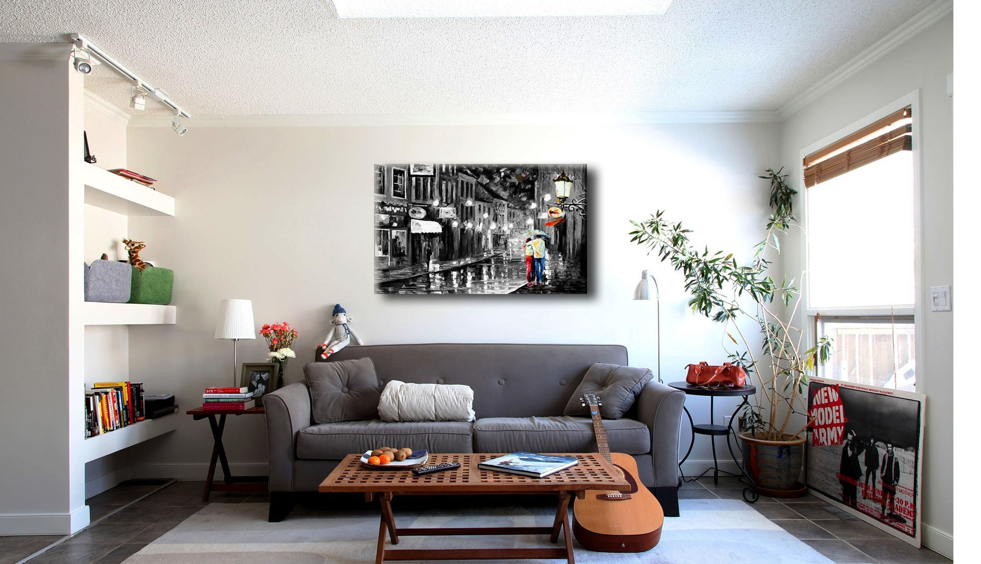 Дизайн комнат с картиной