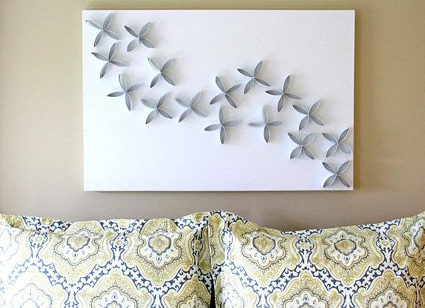 Украшение на стену своими руками из картона