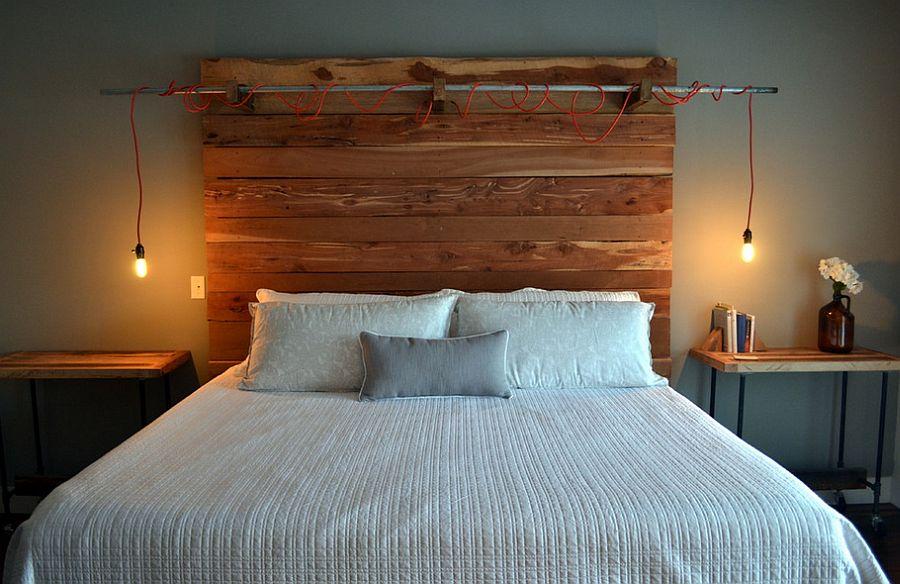 Изголовья для кровати из дерева своими руками