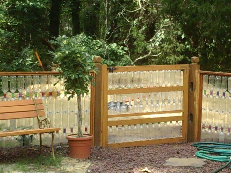 Забор огорода своими руками