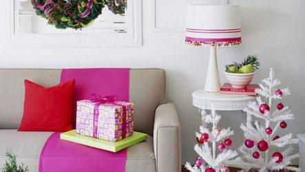 Вдохновляющие идеи новогоднего декора 2017 года для небольших помещений
