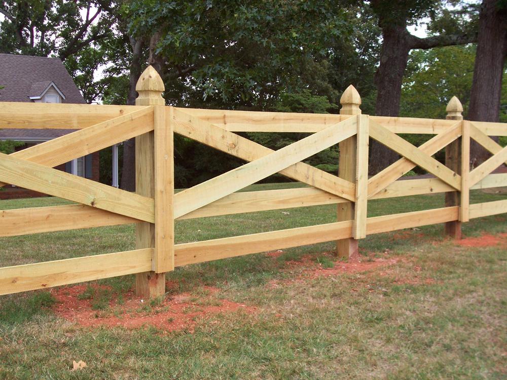Как сделать деревянный забор на даче