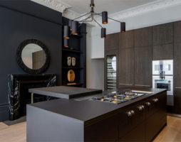 Роскошный дизайн квартиры в современном английском стиле