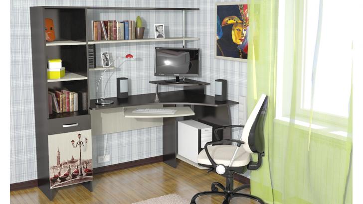 Компьютерный стол угловой фото