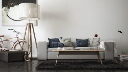 Напольные торшеры: украшение и освещение интерьера
