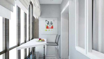 Практичное использование пространства балкона. 14 идей для дизайна балкона.