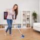 Чистота в доме способствует развитию гармоничных отношений в семье