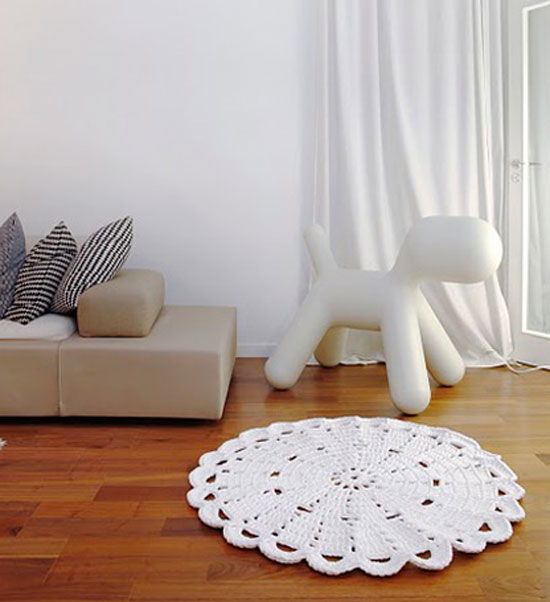 Как сшить декоративные коврики 319