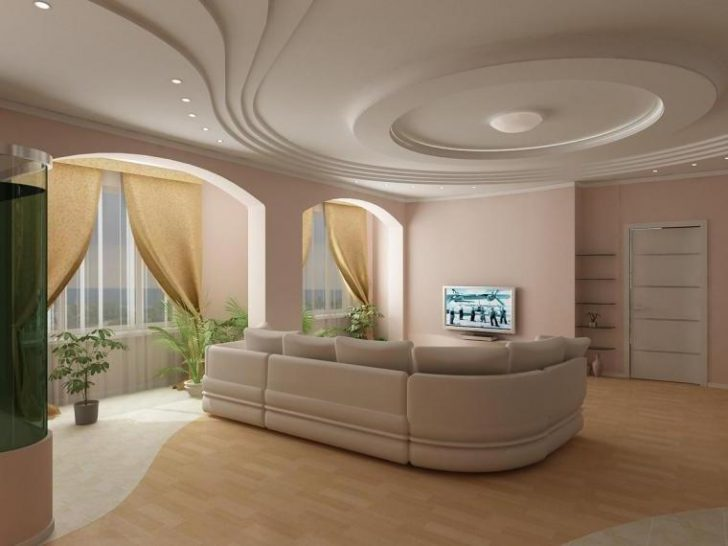 дизайн из гипсокартона фото дизайн интерьера в зале