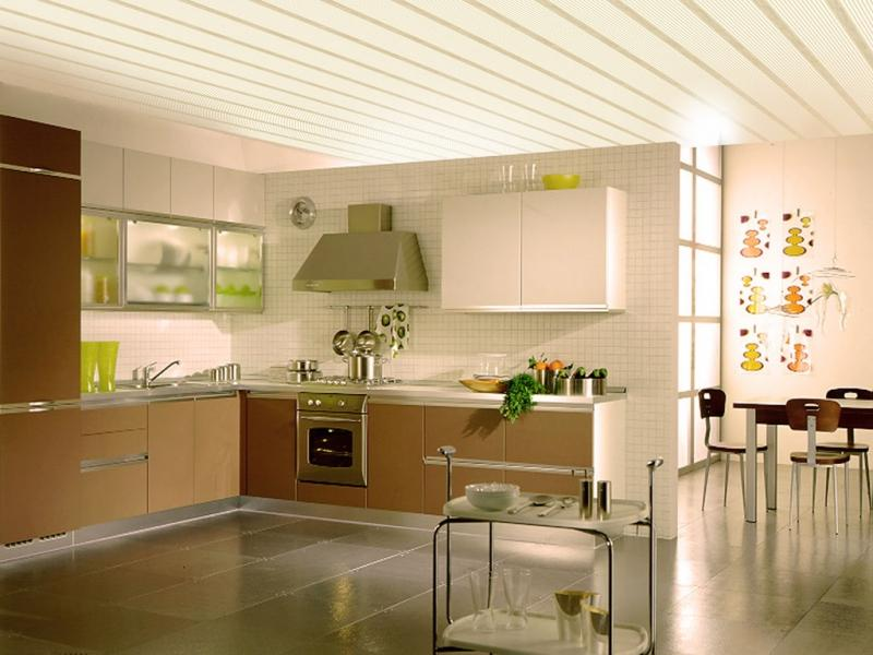 Дизайн из пластика на кухне