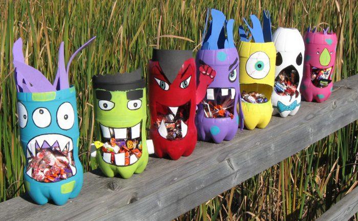 Поделки из пластиковых бутылок для детского сада своими руками