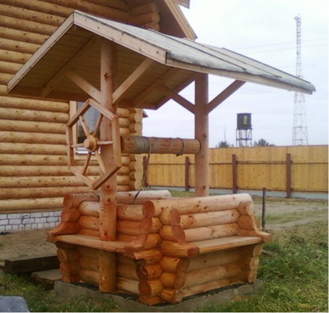 домик для колодца