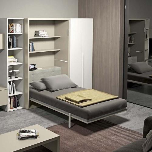 встроенная кровать в шкаф